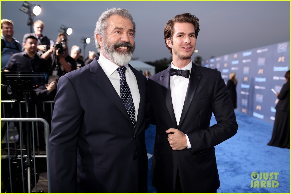 Andrew Garfield Wins Best Actor In An Action Film For Hacksaw Ridge At Critics Choice Award Photo 3826033 22nd Critics Choice Awards Andrew Garfield Critics Choice Awards Mel Gibson Pregnant Celebrities