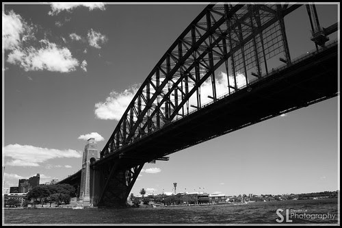 Half of Harbour Bridge