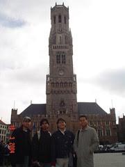 Belfort kat Bruges, Belgium