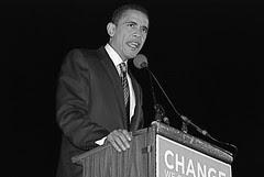 Barack Obama Rally Boston 10/23/07