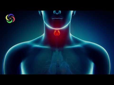 "Thyroid Healing Treatment & Throat Healing ""12 Hz"" Binaural Isochronic Tone and White Noise #RMBB"