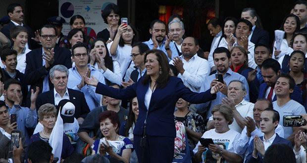Renunciaré a financiamiento público si obtengo candidatura: Zavala