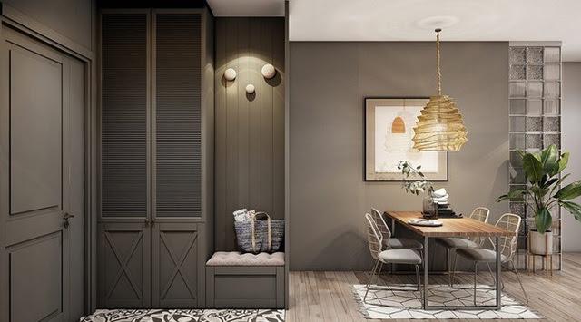 Căn hộ 30m2 có nội thất đơn giản nhưng vô cùng sang trọng - Ảnh 4.