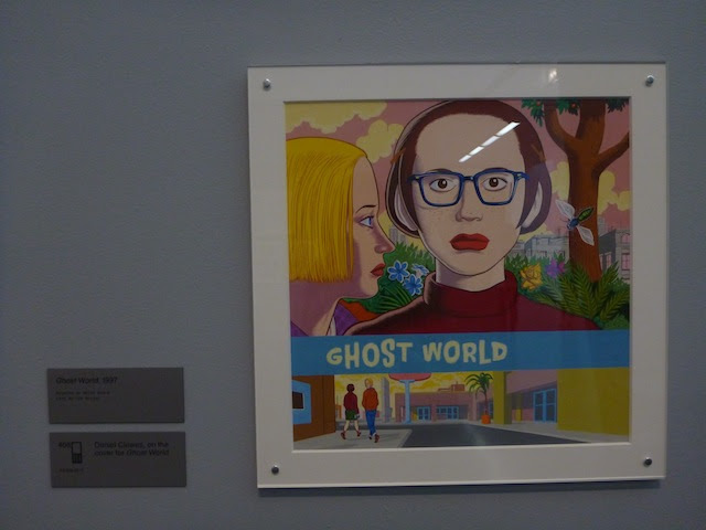 Ghost World on view at the Museum of Contemporary Art in Chicago. All photos by the author for Hyperallergic.