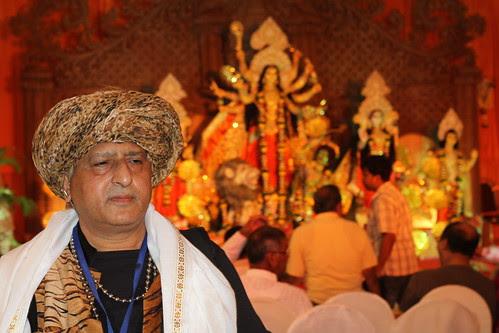 I Have Just Returned Shooting The Durga Visarjan Juhu 2012 by firoze shakir photographerno1