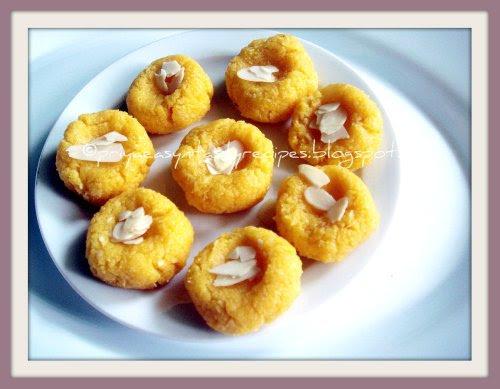 Mango & Coconut Pedas