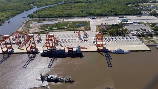 Resultado de imagen para nueva terminal en el puerto de La Plata
