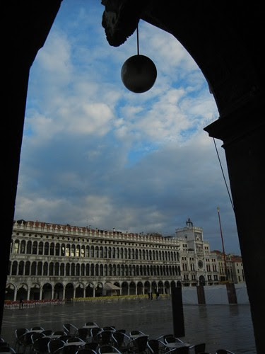 DSCN1284 _ view of Torre Dell'Orologio from Loggia of Piazza di San Marco, 13 October