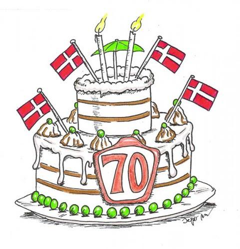 70 års Fødselsdag Kort | Kort
