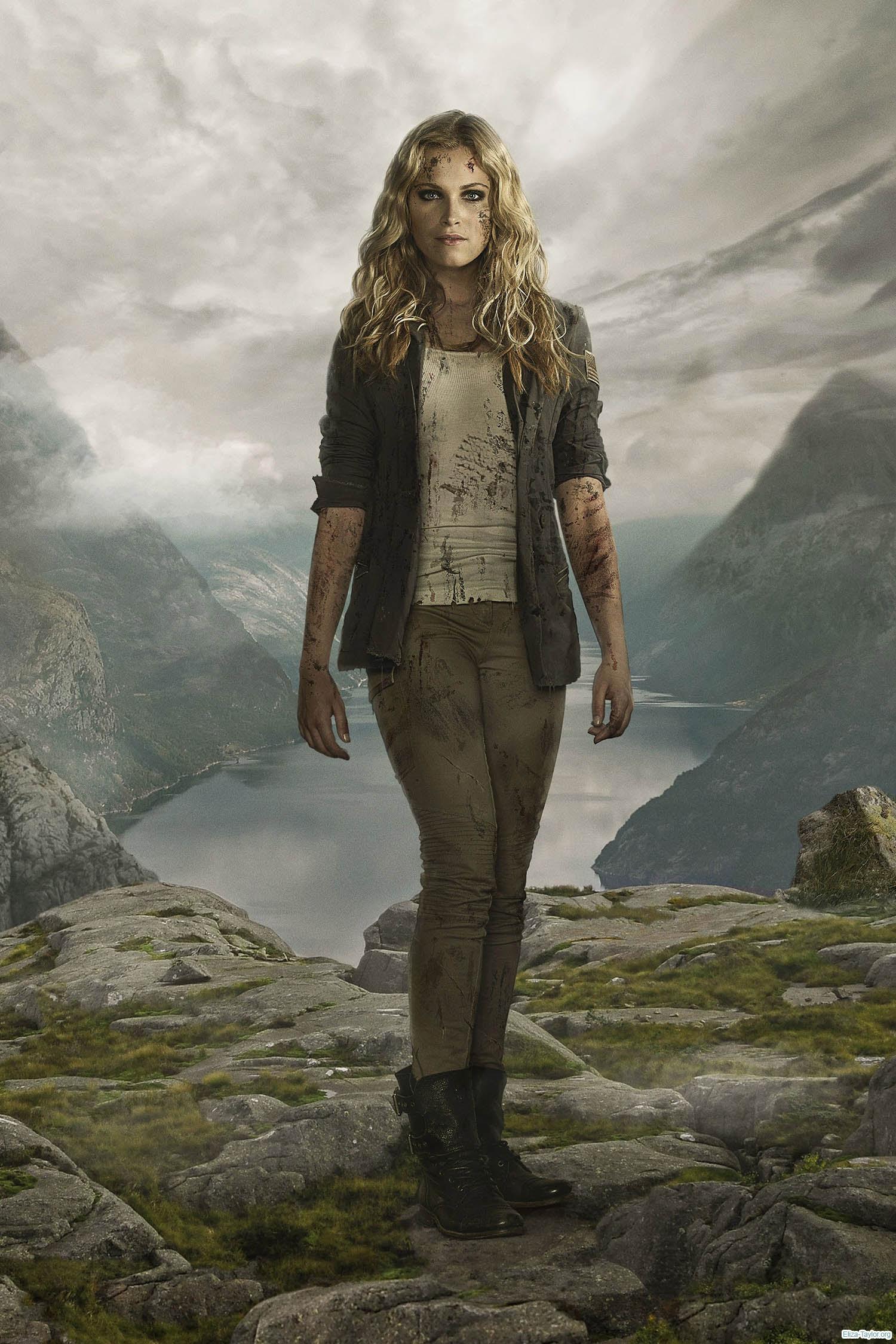 Clarke Season 2 The 100 Wallpaper 39451875 Fanpop