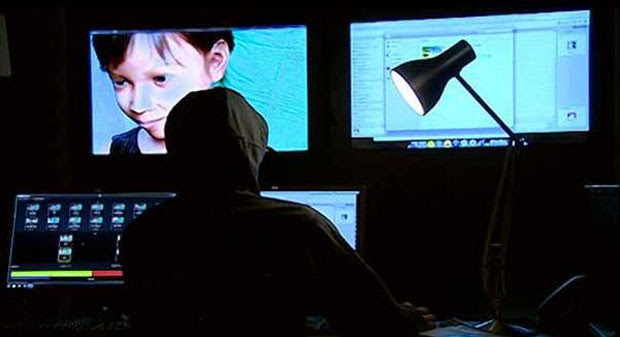 Operadores se passavam por meninas filipinas para atrair criminosos (Foto: BBC)
