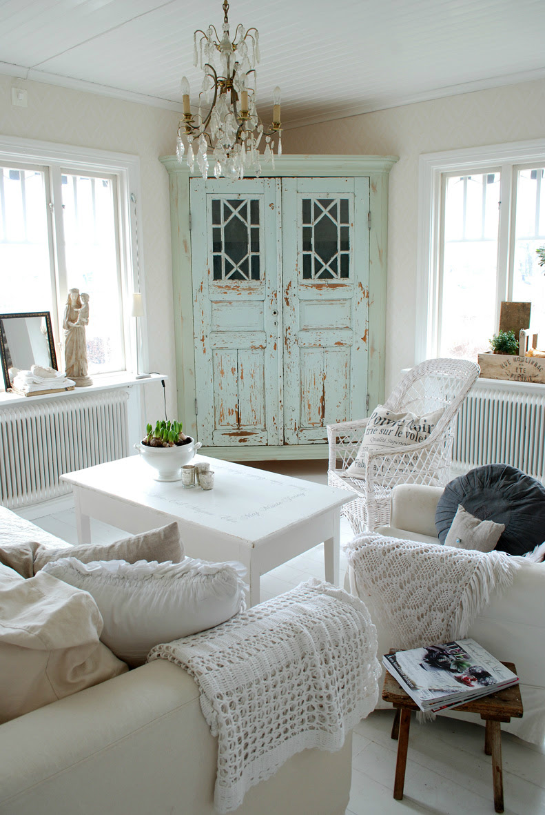 64 White Living Room Ideas - Decoholic