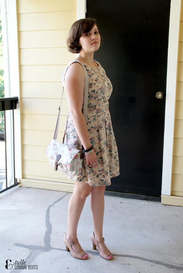 floral ModCloth dress