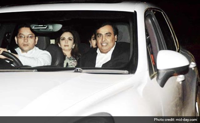 Mukesh Ambani's driver will listen to your senses, Viral will also fly on social media