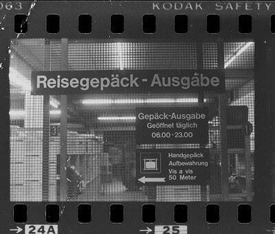 Zürcher Hauptbahnhof 1985 oder 1986