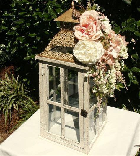 Wedding Card Box Ivory Pink Gold Wedding Card Holder White
