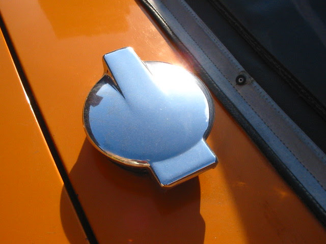 Triumph TR4 gas cap