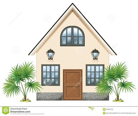 simple house royalty  stock  image