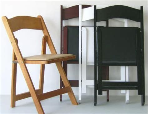 :: NEW YORK WOOD FOLDING CHAIRS   WOOD WHITE FOLDING
