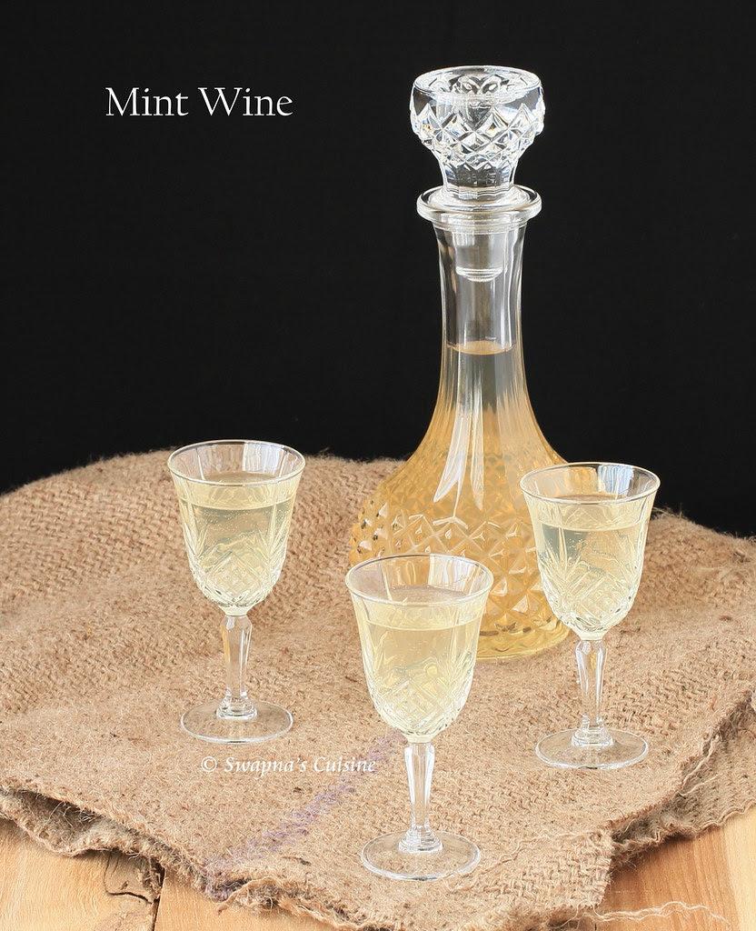 Kerala Mint Wine Recipe