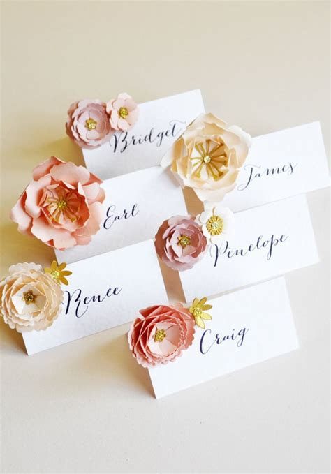 25  Best Ideas about Name Cards on Pinterest   Wedding