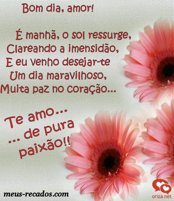 Frasesamor Frases De Bom Dia Meu Amor Te Amo Muito