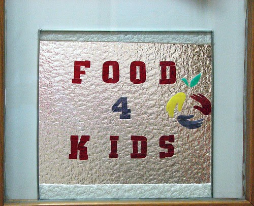 Food4Kids stained glass window