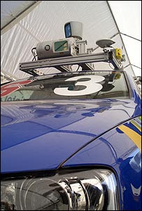 El auto Junior, un modelo modificado del 2006 Volkswagen Passat Station Wagon