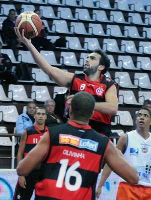 Flamengo x Mavort basquete (Foto: Marcelo Figueras / FIBA)