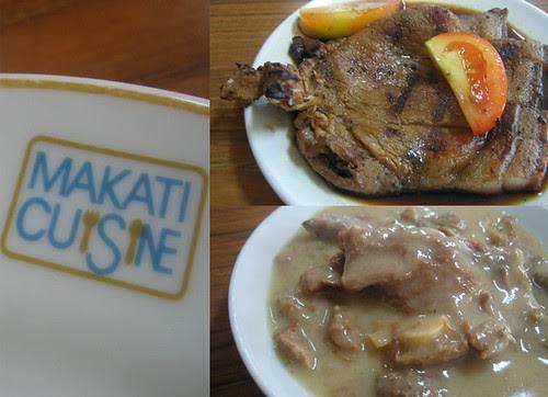 Makati Cuisine at Ateneo canteen