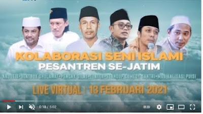 Saksikan 13 Februari 2021: PWNU Jatim Gelar Harlah  Virtual Nahdlatul Ul...