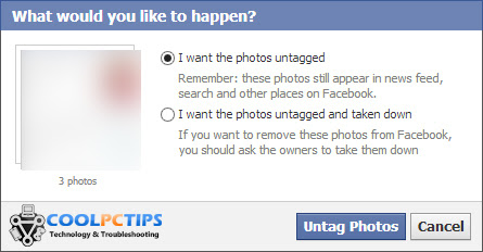 How To Easily Untag Yourself From Multiple Photos On Facebook 3