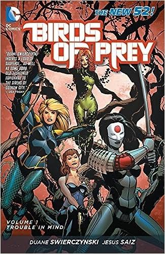 Birds Of Prey Dc Comics New 52