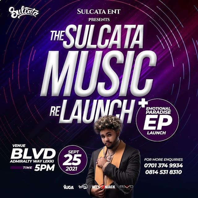 [BangHitz] Sulcata Entertainment Relaunches Sulcata Music In Style