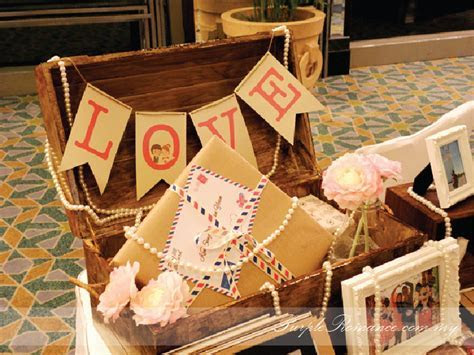 Travel Theme Wedding Decoration, Mandarin Oriental Kuala