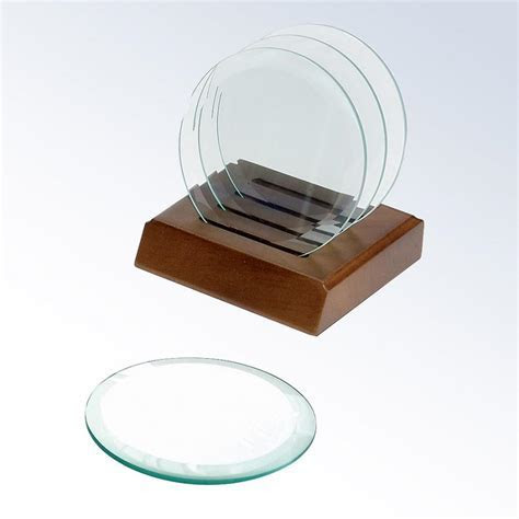 Glass photo coasters bulk