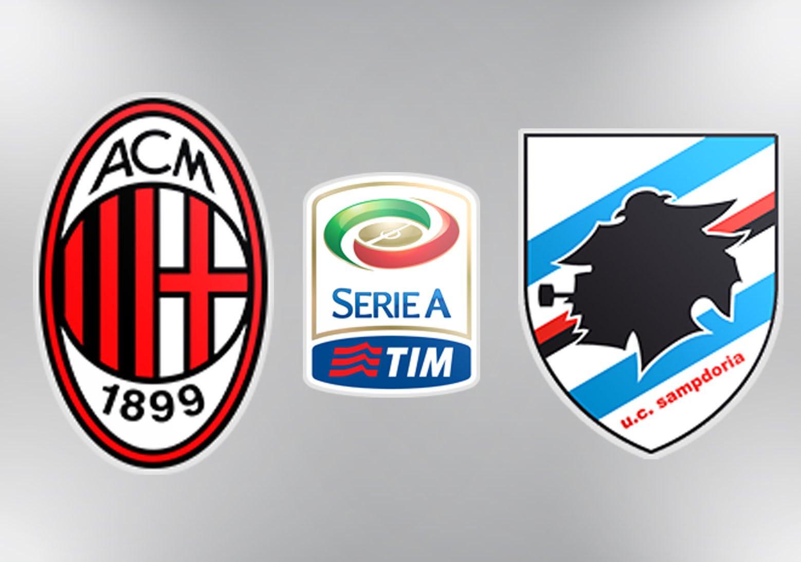 Image result for AC Milan vs Sampdoria