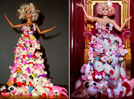 Lady GaGa's Barbie doll