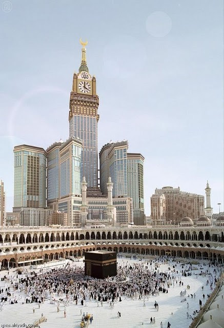 Makkah Tallest Royal Clock Tower Tagged On The Wondrous Pics