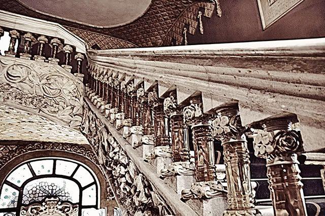 Stairway to Catalan Art Nouveau