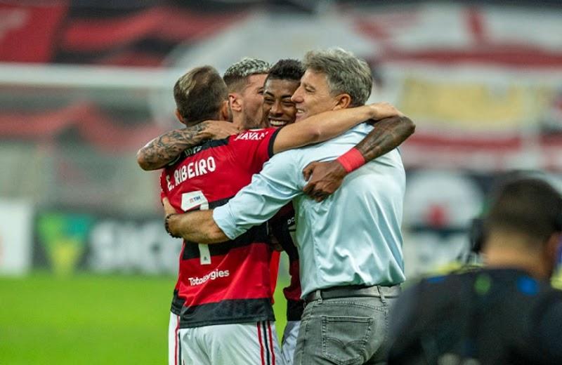 Renato Gaúcho ficará no RJ e vai poupar grupo principal do Flamengo contra o ABC