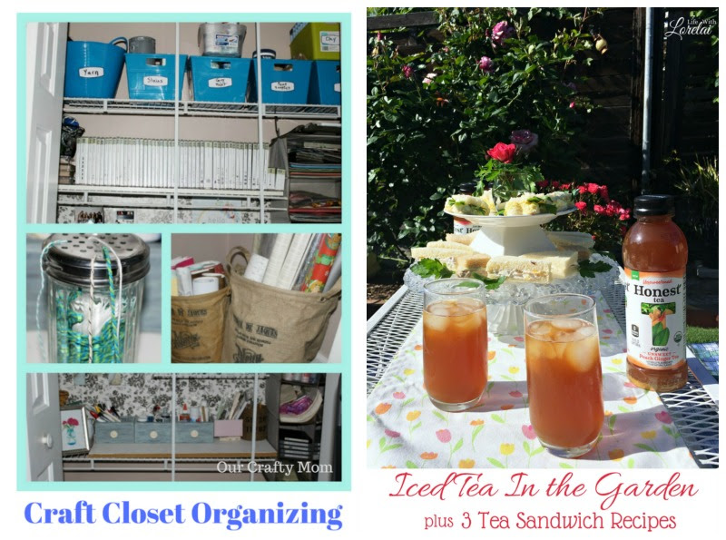 Come join the fun and link your blog posts at the Home Matters Linky Party 132. Find inspiration recipes, decor, crafts, organize -- Door Opens Friday EST.