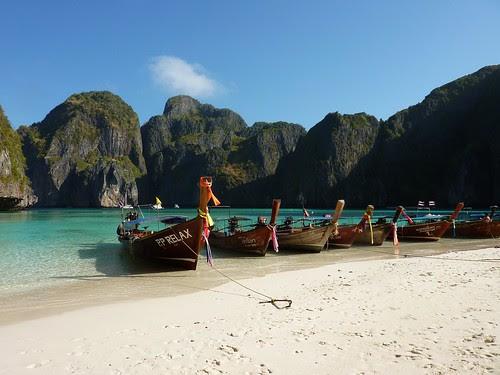 Thailand, Phi Phi Leh, Maya Bay 1