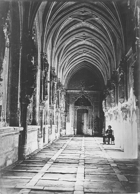 Fotografía de Charles Clifford. Claustro de San Juan de los Reyes hacia 1857