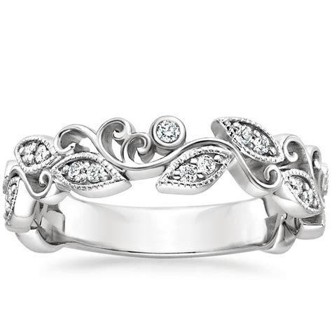 Ivy Scroll Diamond Ring   Brilliant Earth