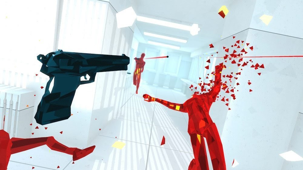 Superhot coming to PS4 this week screenshot