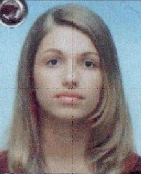 Panther in Pink: Bojana Mitic (foto) é procurado em conexão com o seu papel no Dubai jóias assalto 2007