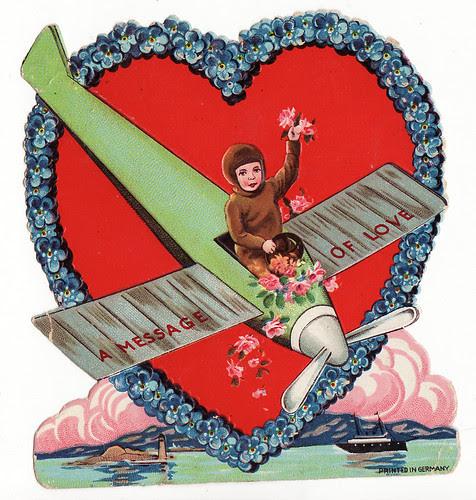 plane valentine