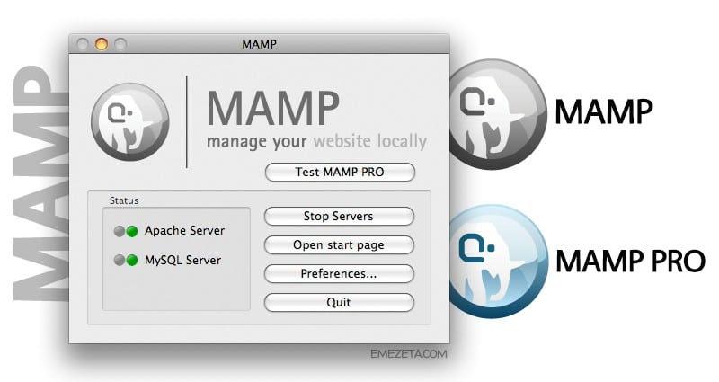 MAMP (Mac + Apache + MySQL + PHP)