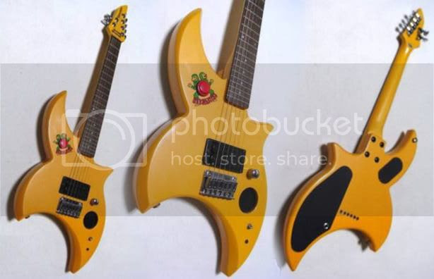 Strange Fernandes guitar